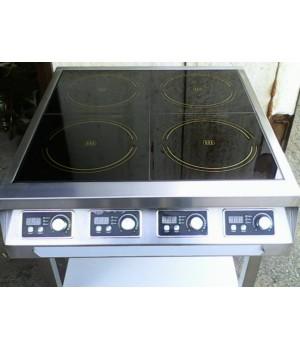 Плита индукционная  4 конфорки по 2,5 кВт