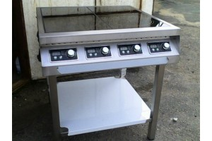 Плита индукционная 4 конфорки по 3,5 кВт
