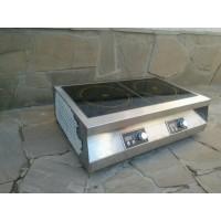 Настольная индукционная плита 2 конфорки по 3,5 кВт