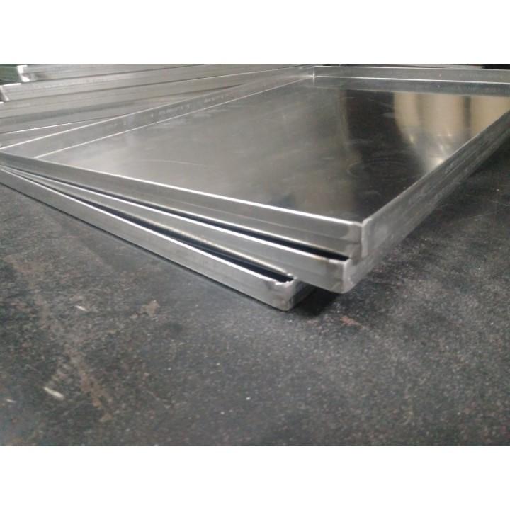Противень алюминиевый 600 *400 гладкий